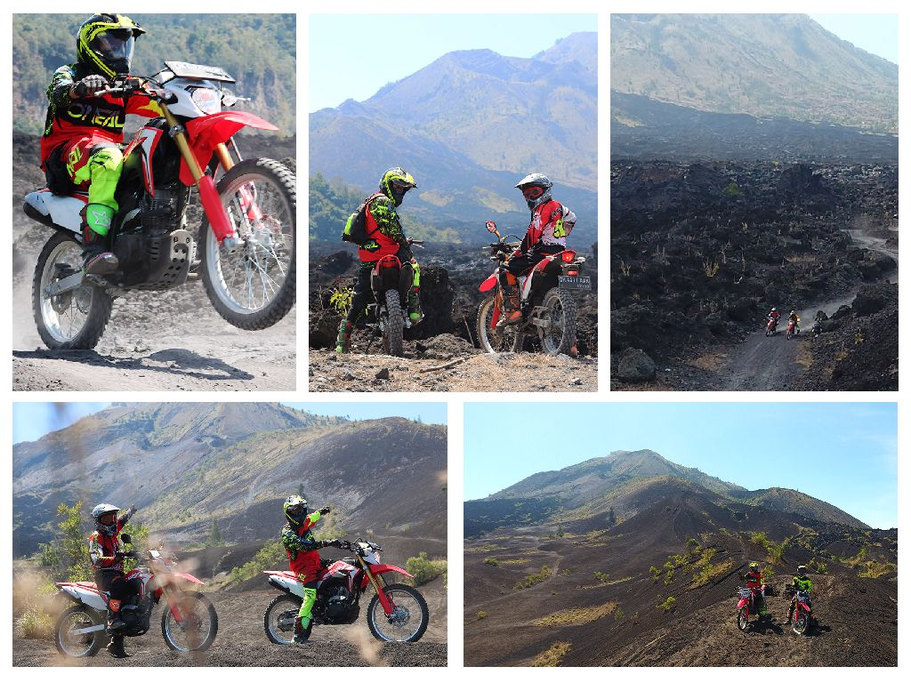 Black Lava Dirt Bike Adventure at Mount Batur