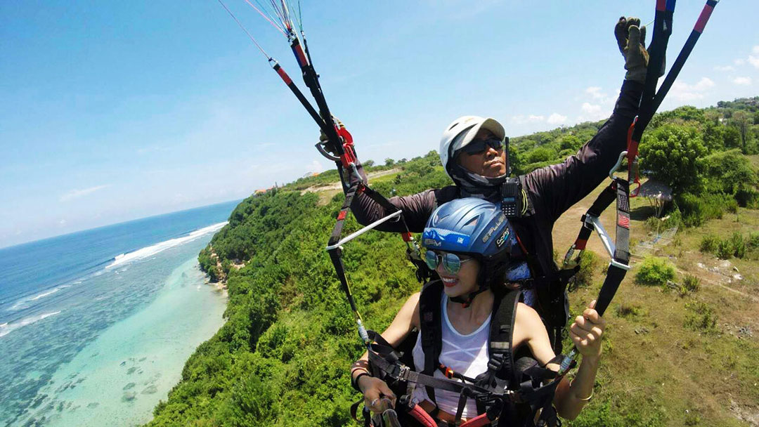 Tandem Paragliding Sport Tour Sightseeing