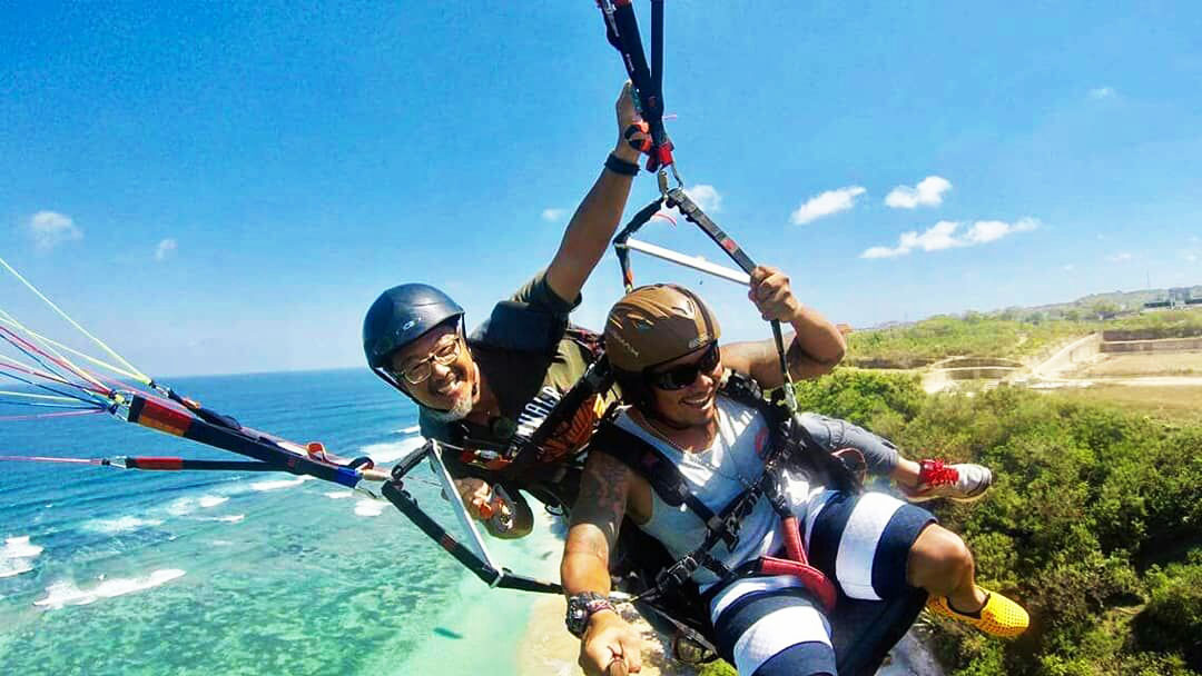Bali Sightseeing Paragliding Sport Tour Bali A1 Driver