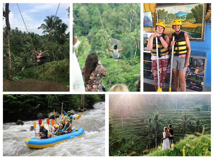 White Water Rafting - Tegalalang and Uma Pakel Swing