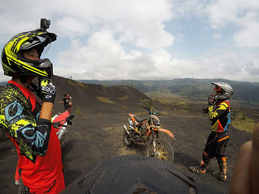 ali A1 Driver Tour Black Lava Dirt Bike Adventure at Mount Batur